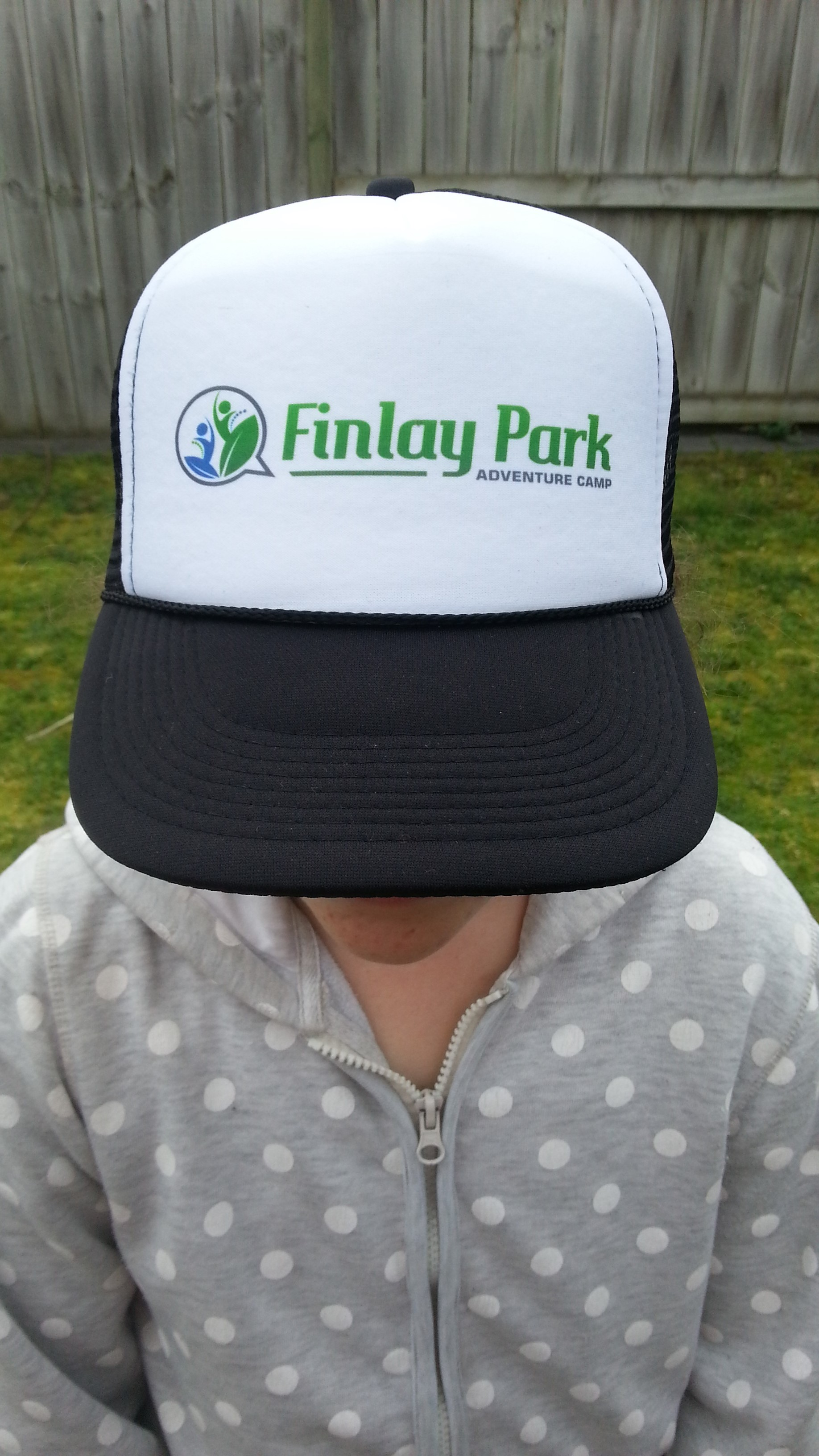 The New Logo and Like us on Facebook to win a FREE Finlay Park Trucker Hat