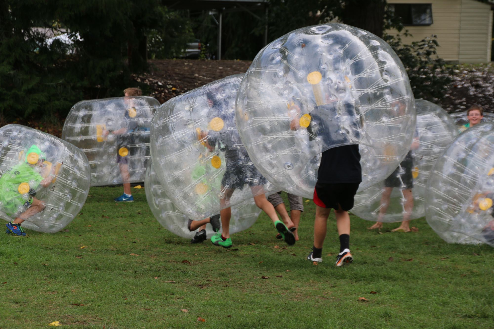 Bubble Soccer is here!
